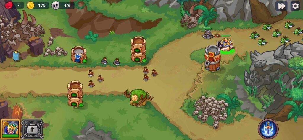Hình ảnh trong game King of Defense 2 mod