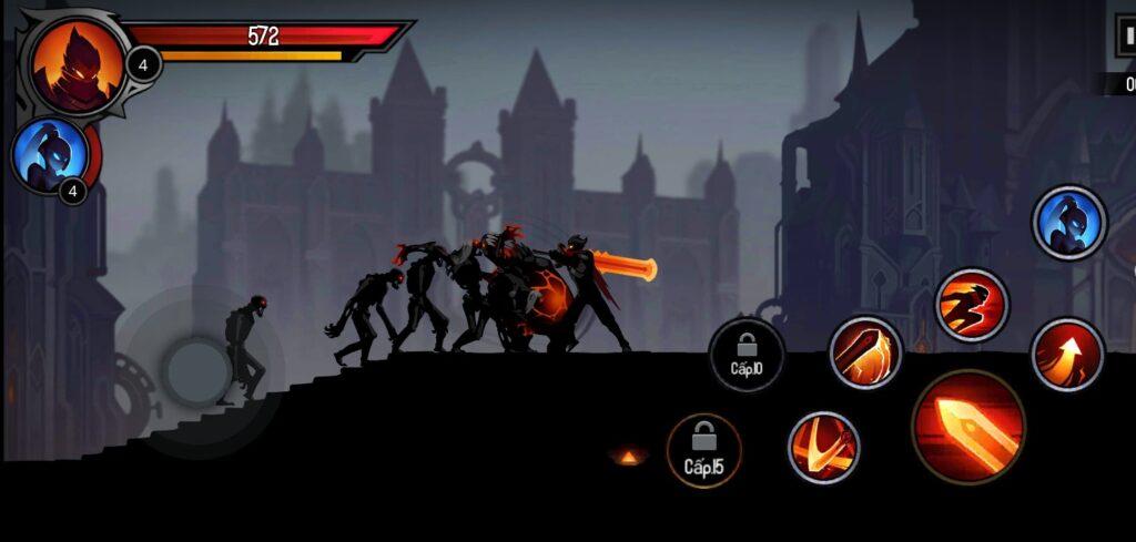 Hình ảnh trong game Shadow Knight mod apk full