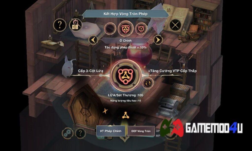 Chế tác phép thuật trong WitchSpring 3