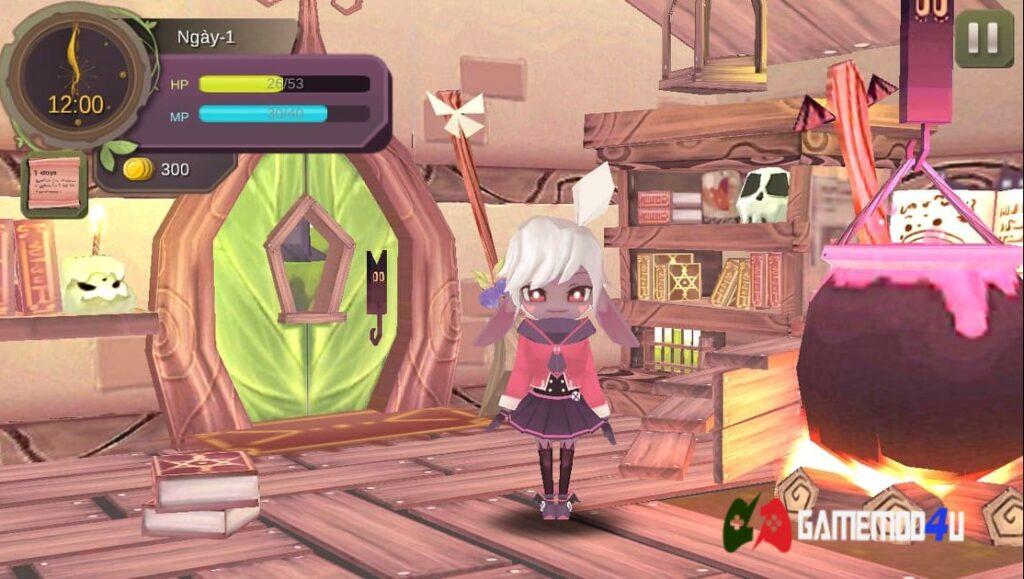 Đồ họa game WitchSpring Mod