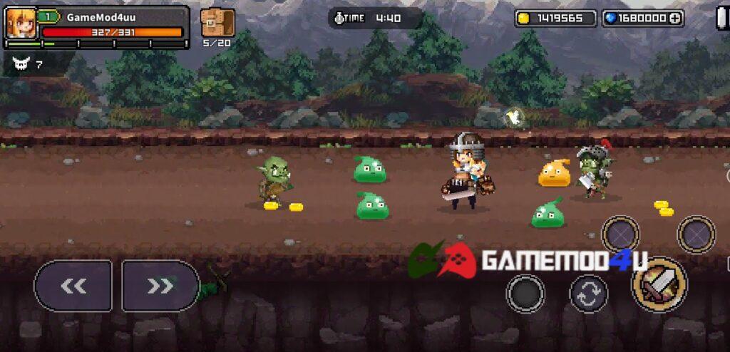 Hình ảnh trong game Final Destiny mod full tiền