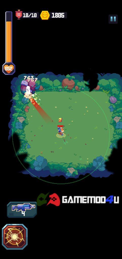 Hình ảnh trong game Wild Gunner mod