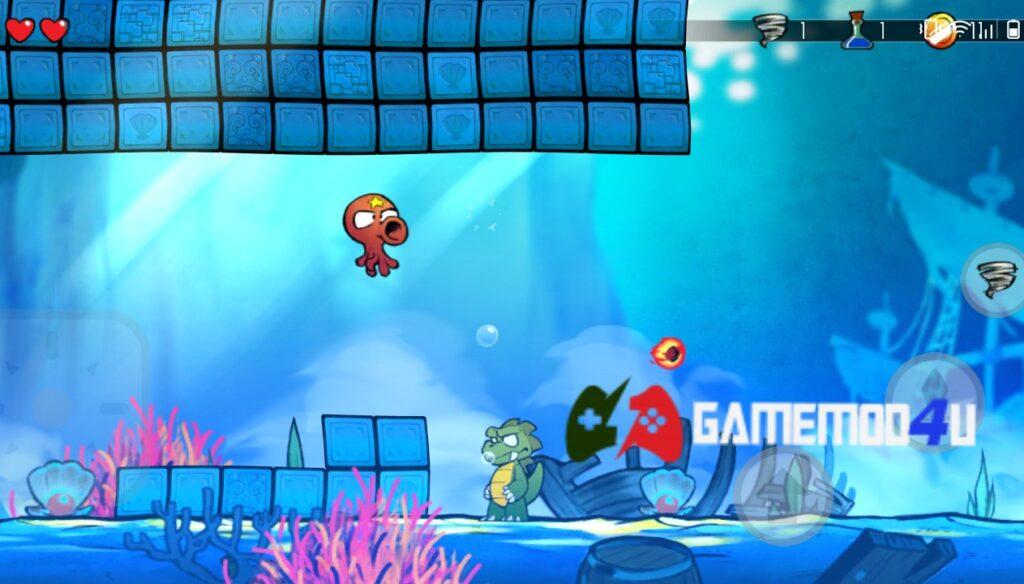 Hình ảnh trong game Wonder Boy The Dragons Trap mod apk full